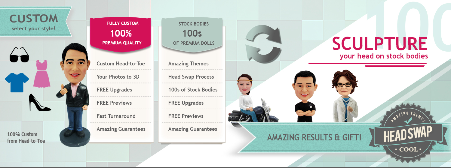 Amazing Bobbleheads Homepage Slider 23