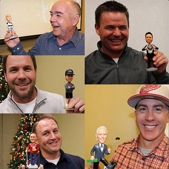 Your bobbleheads are spot on! Alison