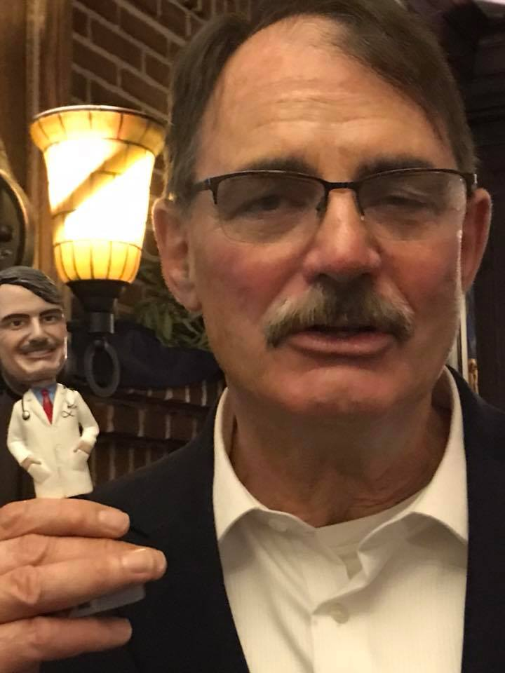Bobblehead for my friend's retirement. He loved it! Roberta