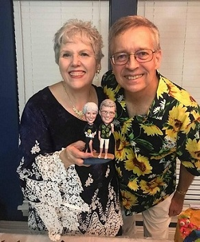 Everyone loved our Amazing Bobbleheads! Rose